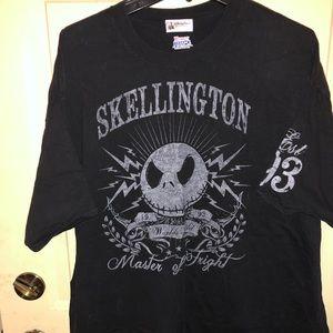 Men's XXL Disney Jack Skellington t-shirt
